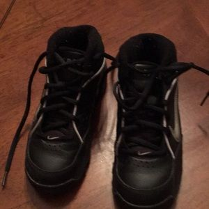 Gently worn youth Nike high top sneakers